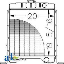 Radiator 301877a2 Fits Case 1840 1845c