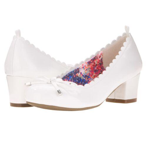 Wonder Nation Girls/' Dress Shoe Toddler Sizes White NWT