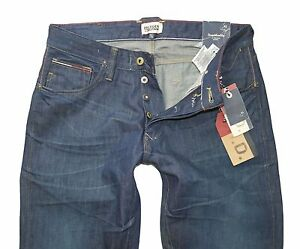 Tommy-Hilfiger-Denim-Ronan-Jeans-Homme-Gwrw-Denim-Neuf-Pantalon