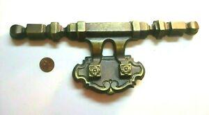"KBC Keeler N8547 Dark Brass 9-5/8"" Large 1960s Pull Handle 1-1/2"" Centers 1 Vtg"