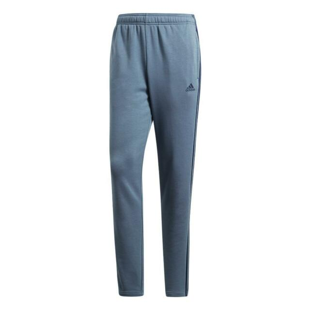 72646b30e813 Adidas Men s Essential 3 Stripe Slim Fit Joggers Blue Navy Track Pant  CF5275 New