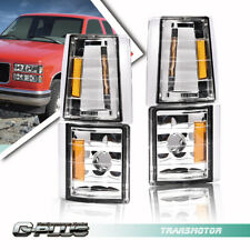 Corner Signal Side Marker Light Lamps Fit For Chevy Ck C10 1500 2500 3500 2wd