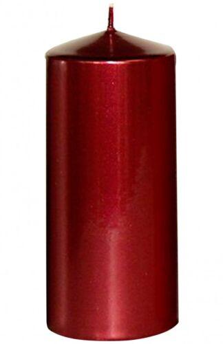 Steinhart 1253007  Stumpenkerze Edelglanz rubin HxØ 130x57mm