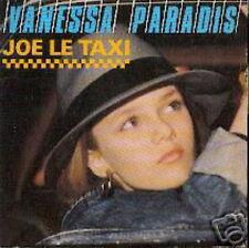 VANESSA PARADIS 45 T FRANCE JOE LE TAXI (LABEL PAPIER)