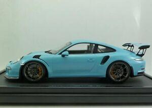 Details About Last One New Rare 112 Spark Porsche 911991 Gt3 Rs Light Blue 200pcs 911 118