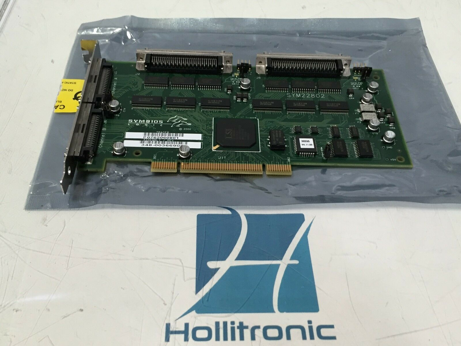 Sun Microsystems Symbios Logic SCSI Card SYM22802 348-0036690C