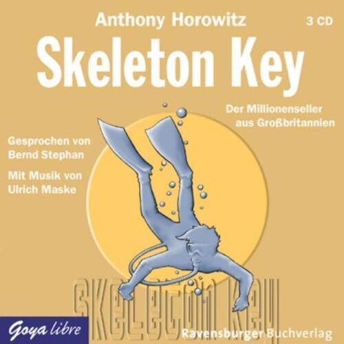1 von 1 - Skeleton Key von Anthony Horowitz (2007) HÖRBUCH NEU OVP