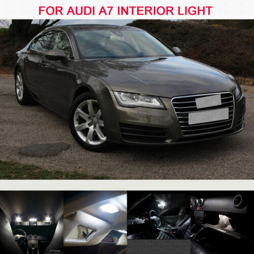 7PS XENON UPGRADE INTERIOR CEILING LED LIGHT Bulbs KIT CAN-BUS FOR AUDI A7 10-16