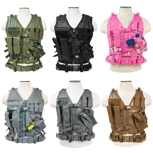 Ncstar Tactical Ctvl2916d Camo Acu Vism Vest Digital Large Xx By 3R54cjqLA