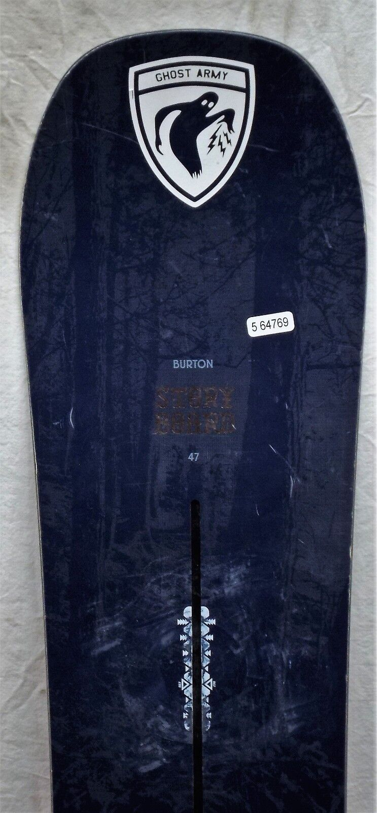 17-18 Burton Story Board Used Women's Demo Snowboard Size 147cm
