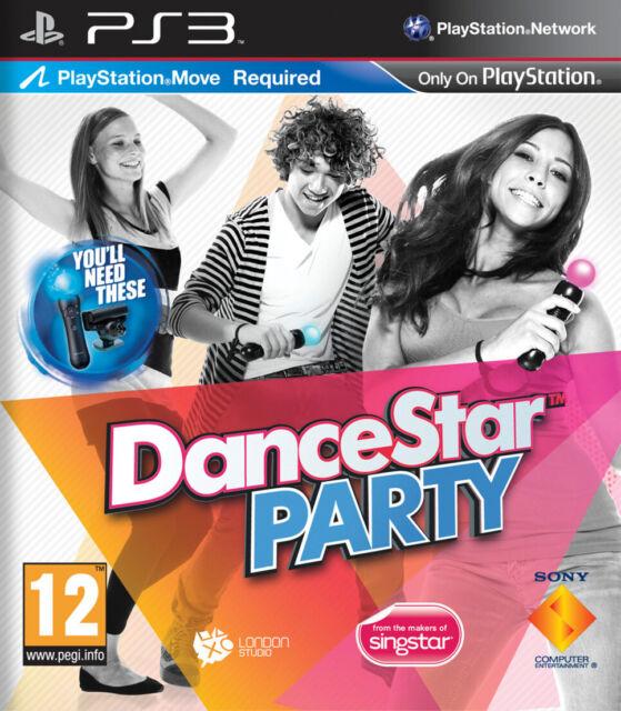 DanceStar  party   Jeu pour console Playstation 3 PS3, Jeu vendu en loose