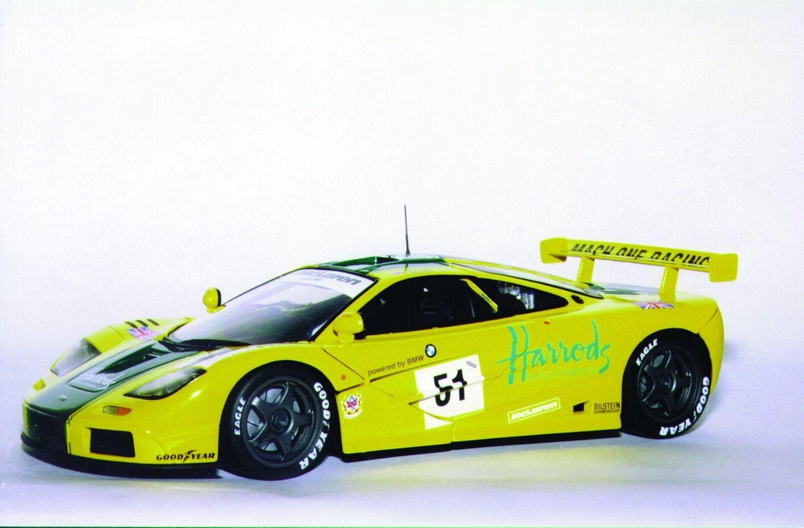 UT modelos McLaren F1 GTR'97 51 Harrod's'