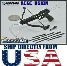 "1/6 CrossBow Arrow Set Weapon Model BLACK ZY TOYS For 12"" Figure - U.S.A SELLER"