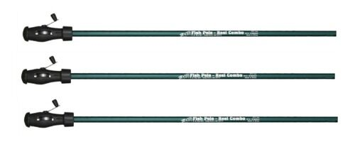 BnM FISH-POLE REEL COMBO 10'  CRAPPIE,POLE, ROD 3pc FPC102 (SET OF 3) TELESCOPIC  save up to 30-50% off