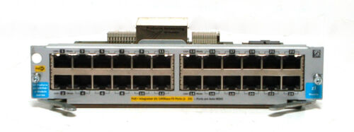 ZL Module *TESTED*USED* HP Procurve J9478A 24 Port 10//100 POE