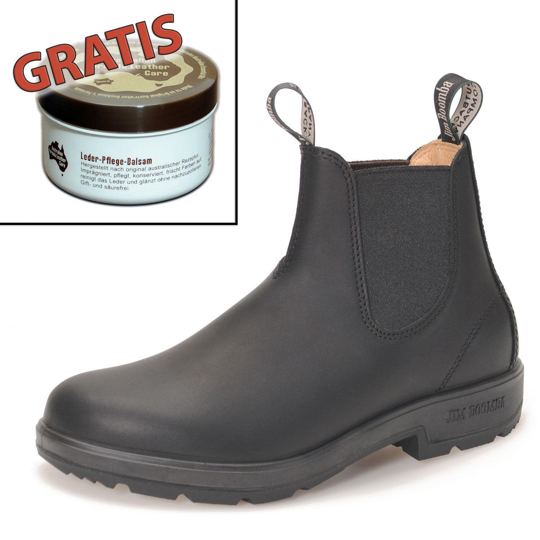 Jim Boomba Town & Country Chelsea Stiefel Stiefelette Schwarz schwarz + Lederpflege
