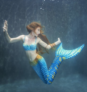 Caribbean Dream Mermaid Tail  For Adults With Monofin For Swimming by Mertailor  best reputation
