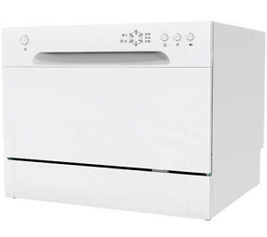 ESSENTIALS CDWTT15 Compact Dishwasher - White - Currys