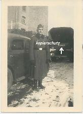Foto Flandern PKW-LKW mit Kennung Kdr. der Bautruppe 71- 2.WK (1069)