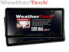 WeatherTech ClearCover License Plate Cover - 2-Pack - Black