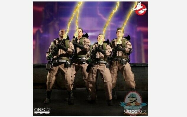 Ghostbusters One 12 Collective Deluxe Box Set Mezco
