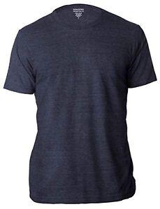 Banana-Republic-Homme-A-Encolure-Ras-du-cou-a-manches-courtes-T-Shirt-Premium-Wash-T-shirts-bleu