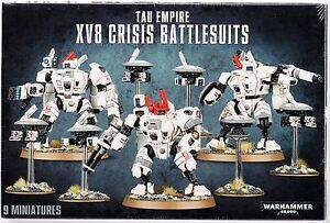 Games Workshop Xv8 Crisis Battlesuit Team Anime