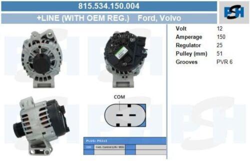 BV PSH Lichtmaschine Generator LiMa ohne Pfand 815.534.150.004