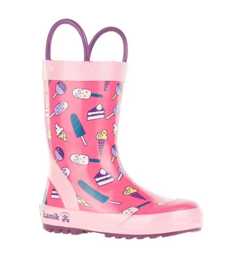Kamik SWEETS Toddlers Kids Girls Rain Boots