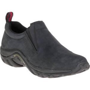 fd8bb4cb1223 Merrell Men Jungle Moc Slip-on Black Nubuck Sneaker Shoe Size 12