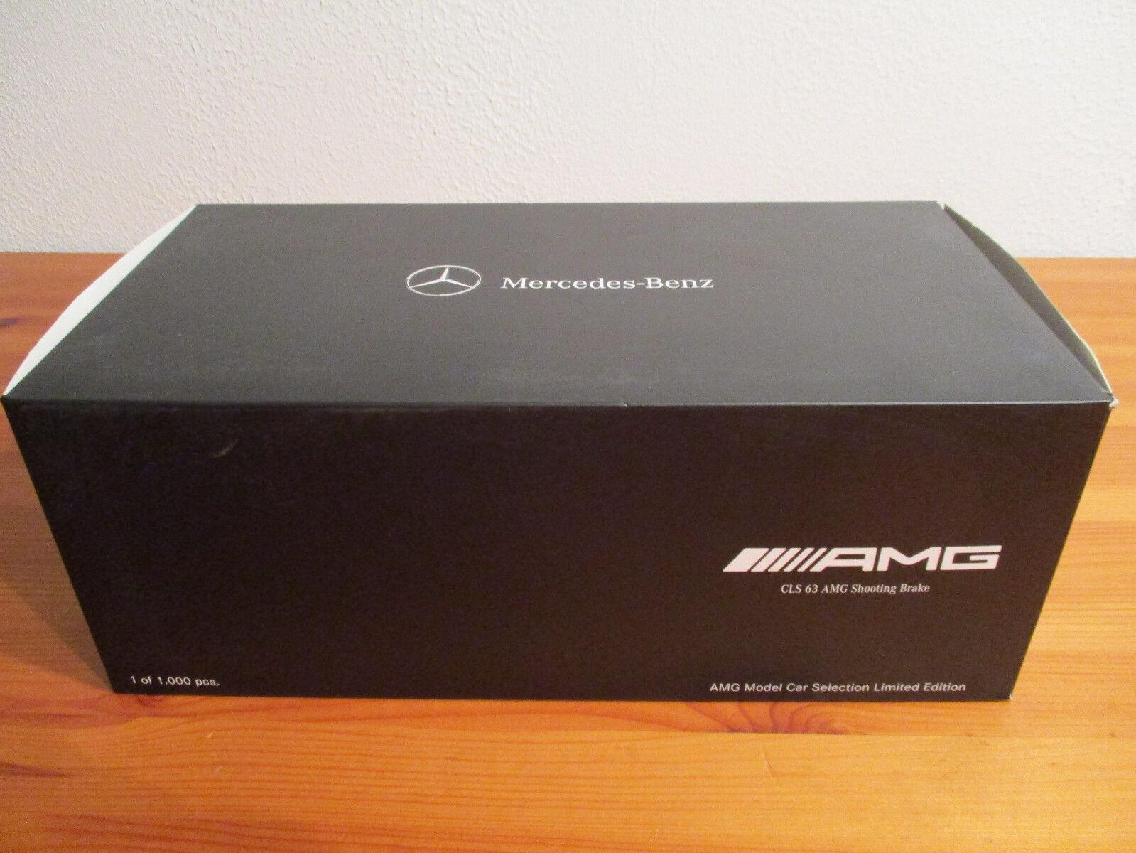 (GO) 1 18 GT Spirit Mercedes Benz CLS 63 AMG V8 Biturbo Shooting Brake NEU OVP