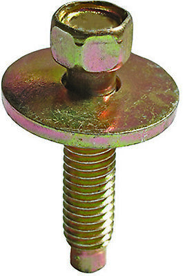 Clipsandfasteners Inc 50 M6-1.0 X 30mm Hex Head Sems W//Dog Point Phosphate