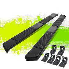 55 Flat Style Coated Step Nerf Bars Running Boards For Ram 1500 Quad Cab 09 19 Fits Dodge Ram 1500