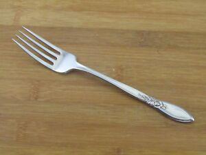 Oneida-Spring-Rose-Dinner-Fork-7-1-2-034-Community-Stainless-Flatware-Silverware