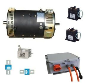 Electric motor for truck conversion