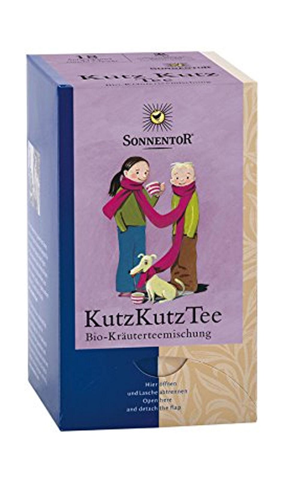 Bio Sonnentor Kutz Kutz Tee Aufgbtl