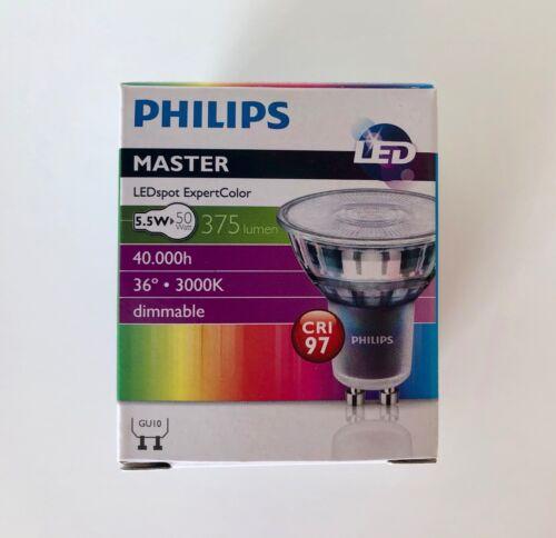 Philips Master LEDspot Expert Couleur 5.5 W GU10 Ampoule