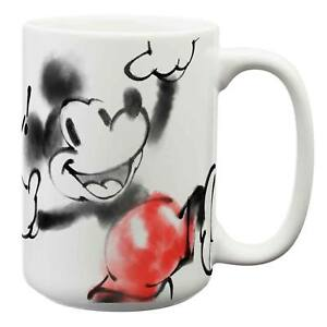 Mickey Mouse Spray Paint Coffee Mug White 707226843991 Ebay