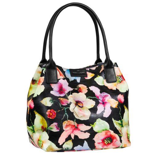 Tom Tailor Shopper Handtasche Beuteltasche Tasche Miri Flower Shopper 20043-60
