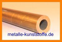 Messingrohr Rundrohr Rohr  Durchmesser 60x2,5 mm / 100mm Länge CuZn39Pb3 MS58