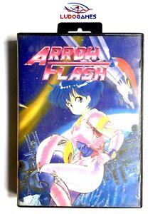 Arrow-Flash-Pal-Eur-Complet-Promo-Press-1990-Launch-Sega-Megadrive-Retro-Mint