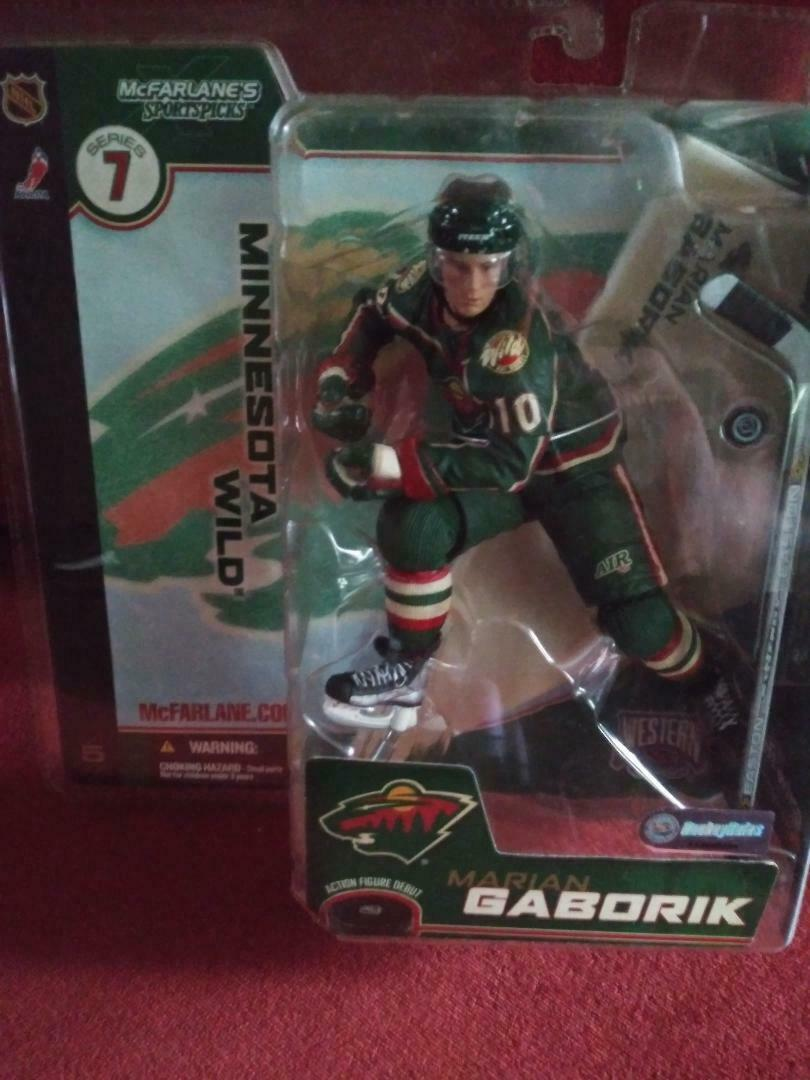 Minnesota Wild NHL McFarlane Series 7-2003-Marian Gaborik