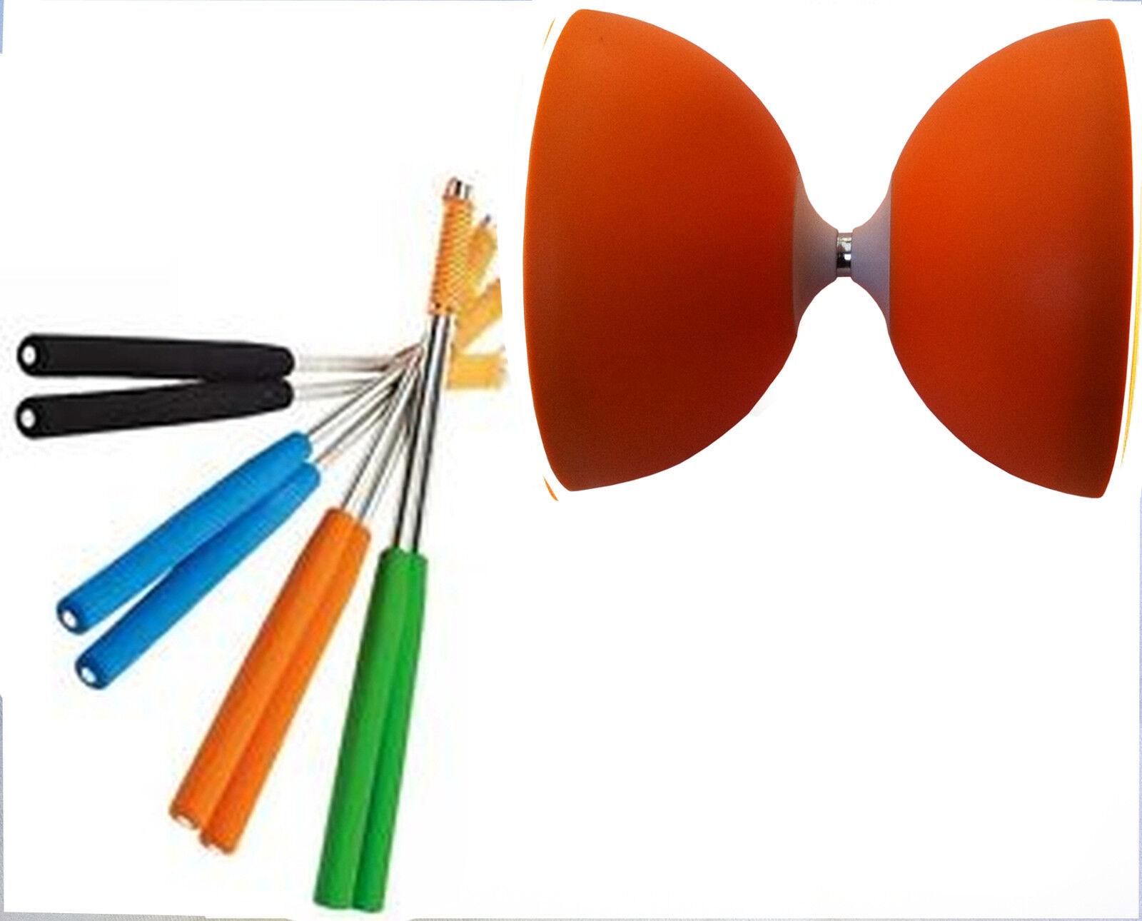 Henrys Jazz Diabolo Orange Orange Orange mit Tuning Kit ws Diabolonet + Henys Alustäbe 325 6c6299