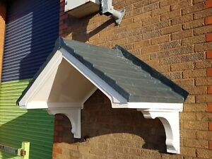 Image is loading GRP-Fibreglass-Door-Porch-Canopy-Thirlmere-Edition : door porch canopy - afamca.org