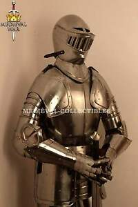 MEDIEVAL-WEARABLE-KNIGHT-CRUSADOR-FULL-SUIT-OF-ARMOR-COLLECTIBLE-ARMOR