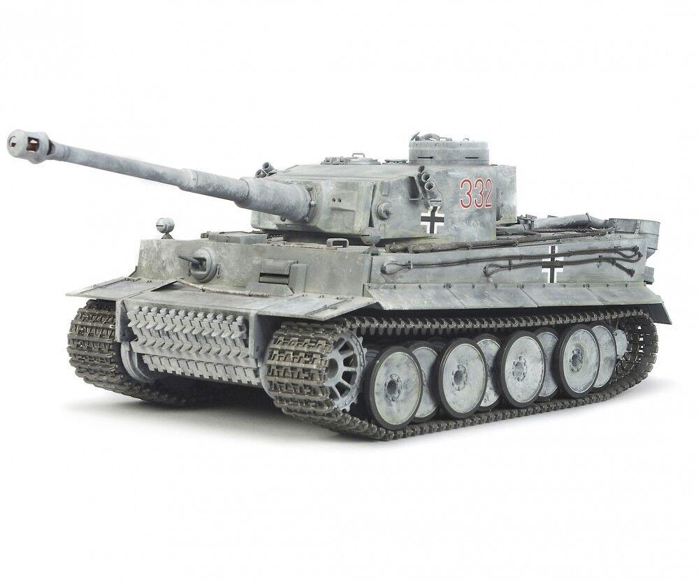 TAMIYA 300056010 - 1:16 RC carro armato Tiger 1 FULL opzione-NUOVO