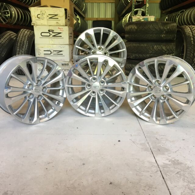 "OEM 18"" Cadillac CT6 Factory Wheels Rims Staggered Set"