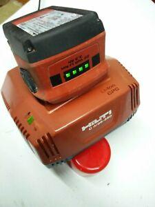 1 Chargeur  de  batteries hilti C 4/36 350 + 1 batterie  hilti  B 22 en 3,3 Ah