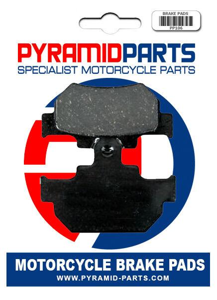 Front brake pads for Suzuki DR600 85-89