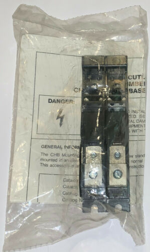 EATON CUTLER HAMMER CHB9L250 Type CHB Circuit Breaker 2 Pole 15-50 AMP